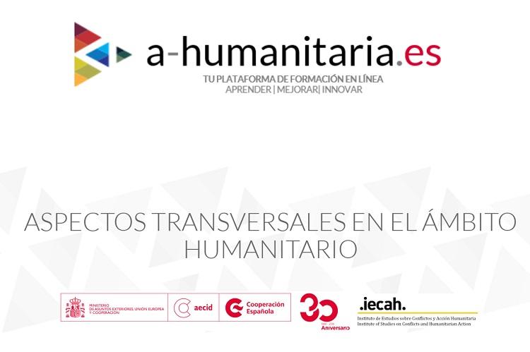 La Oficina de Acción Humanitaria (OAH) de AECID anuncia el lanzamiento de su nueva plataforma